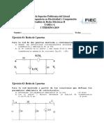 Ejercicios Redes de dos puertos y estabilidad de funciones.