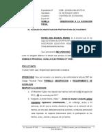 Observacion a La Acusacion Fiscal - Royer Joel Egoavil Rivera