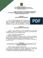 Resol. 050 - 2014 - ANEXO - Regimento dos grupos PET do IFBA.pdf