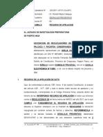 Recurso de Apelacion de Desalojo Preventivo - Asociacion de Reclicladores de Los Valles Pichis Palcazu y Pachitea Conservando El Medio Ambiente 1