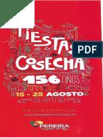 Fiestas de La Cosecha 156 Años