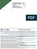 Programa de Mantenimiento Para Maquinaria, Equipos y Herramientas