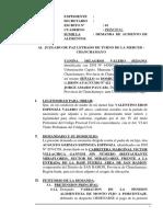 Demanda de Aumento de Alimentos 35 - Yanina Milagros Valero Sedano - Amaro Paucar
