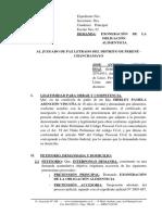 Demanda de Exoneración de La Obligación Alimenticia 1 - La Merced