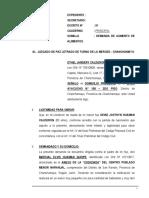 Demanda de Aumento de Alimentos 34 - Ethel Jandery Calderon Santiago - Segundo
