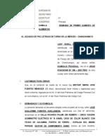 Demanda de Aumento de Alimentos 115 - Lady Gisell Mendoza Melendez