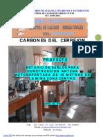 Estudio Suelos para Fundaciones de Antena Autosoportada