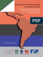 Venezuela tiene récord de homicidios cometidos por cuerpos de seguridad en la región