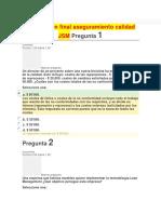 Examen FinExamen Final Aseguramiento Calidad