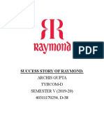 Success Story of Raymond