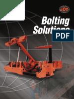 Joy Bolting Brochure - Mining