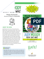 Judy Moody, Book Quiz Whiz Teachers' Guide