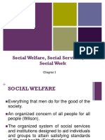 Chapter 1 - Social Welfare, Social Services, and Social Work