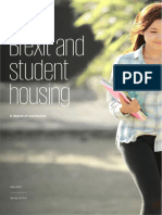 Brexit and Student Accommodation