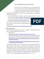 Standarde Minimale de Eligibilitate Pentru Directorul de Proiect
