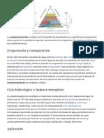 Evapotranspiración - Wikipedia, La Enciclopedia Libre