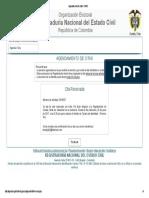 Agendamiento de Citas- RNEC