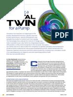 Creating a Digital Twin for a Pump AA V11 I1