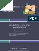 Administracion humanística
