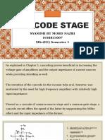 Cascode Stage (SYAMIMI)