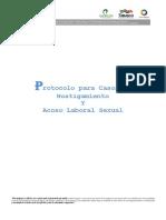 Protocolo Para Casos de Hostigamiento y Acoso Laboral Sexual