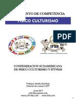 Fisicoculturismo Reglamento Colombia 2019