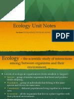 11-Ecology Notes PDF