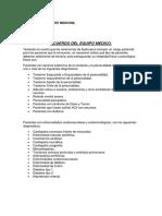 Acuerdo Del Equipo Medico2222