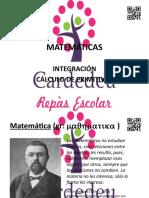 Matemáticas. Integración. Cálculo de Primitivas