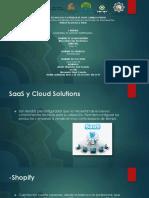 software como servicio y soluciones en linea