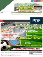 Biaya Pembuatan Lapangan Futsal Indoor Dan Outdoor - Gawang Futsal Portabel