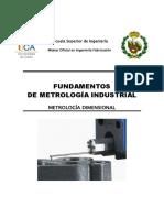 FUNDAMENTOS DE METROLOGÍA INDUSTRIAL