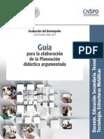 SPD - Guía Para La Elaboración de La Planificación Argumentada