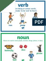 Type of Words Display Posters Ver 9