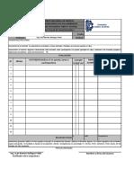 Lista de Control Actividades y Tareas