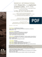 Programa Final - Congreso Beaux-Arts 2019