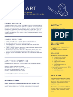 navy blue orange simple college resume
