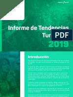 Informe de Tendencias Turísticas 2019