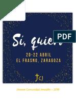 Folleto Oración JCJ_El Frasno_2018