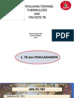 Penyuluhan TB RS Daud Arif