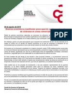 Gremios económicos sobre la ciclorruta en Bucaramanga