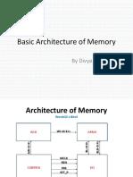 Basic Architecture of Memory