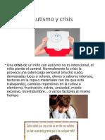 autismo y crisis