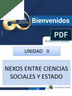 Nexos Entre Ciencias Sociales y Estado