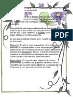 Qué Es Proyecto de Vida.docx Lusa Bb