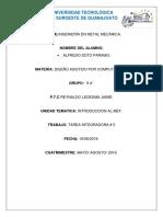 Alfredo Soto Páramo Tarea Integradora 2 Diseño Asistido