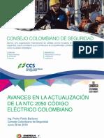 GID1031 2018 Avances en La Actualizacion de La NTC2050 Pedro Pablo Barbosa