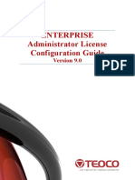 Enterprise Administrator V9.0 License Configuration Guide