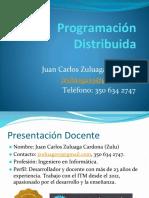 Programación Distribuida - Presentación del Curso & Primera Clase.pptx