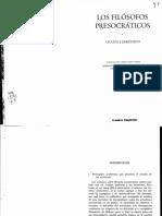 Leucipo y Demócrito_Los Filósofos Presocraticos Introducción_(Pp11-21)
